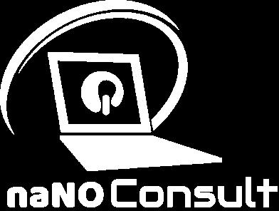 naNO Consult Logo Weiß